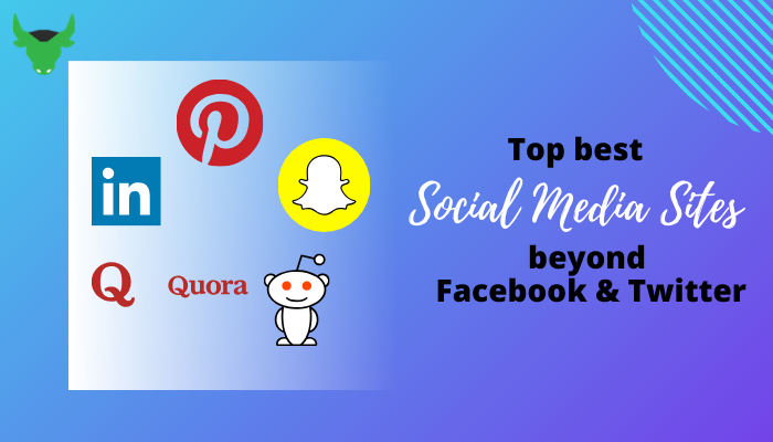 Top Social Media sites beyond Facebook and Twitter