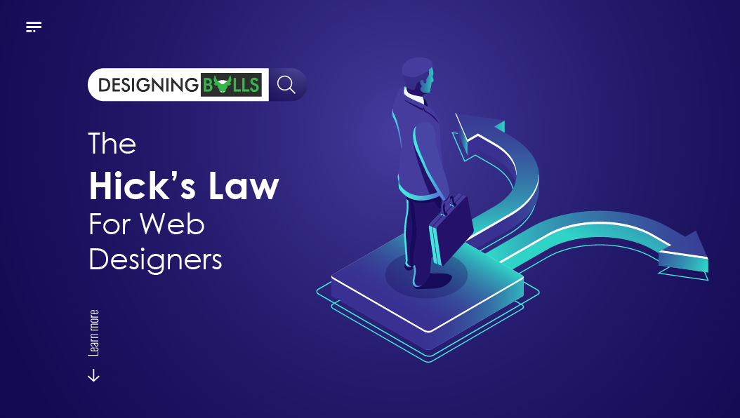 The Hick's Law for Web Designers