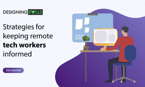 Strategies for keeping remote tech workers informed