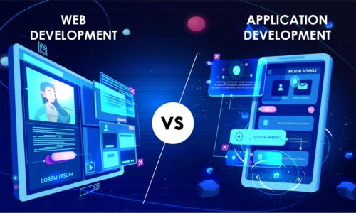 Web Development v/s Application Development