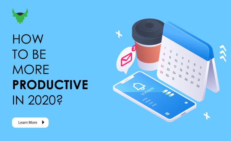 how to become more productive in 2020?