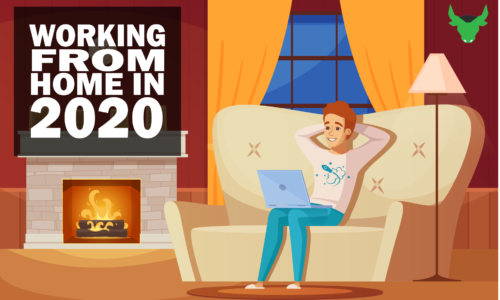 Working from home in 2020!