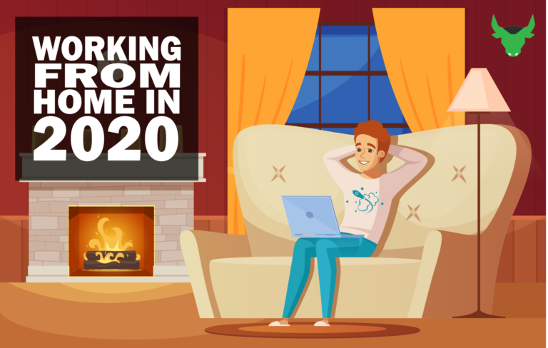 working from home in 2020,