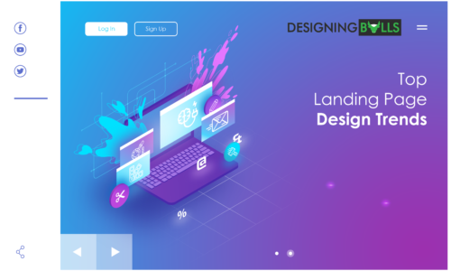 Top Landing Page Design Trends