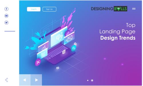 Top Landing Page Design Trends