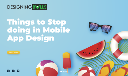 Things to stop doing in Mobile App Design!