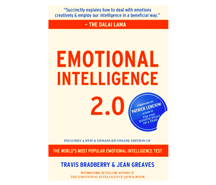 'Emotional Intelligence 2.0' by Travis Bradberry and Jean Greaves