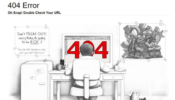 404 error – The creative ones you have never seen!