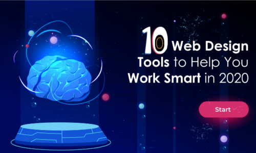 10 Web Designing Tools to help you work smart in 2020!