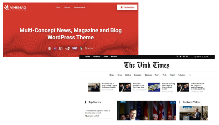 Vinkmag, 5  Best WordPress Themes in Your Budget