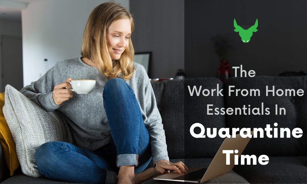 The Work From Home Essentials In Self-Quarantine Time