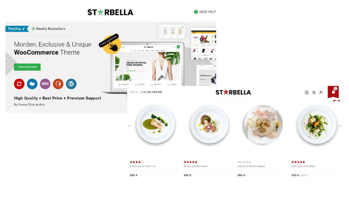 Starbella, 5  Best WordPress Themes in Your Budget
