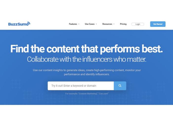 Buzzsumo, The Super Social Media Tools To Boost Your Profile