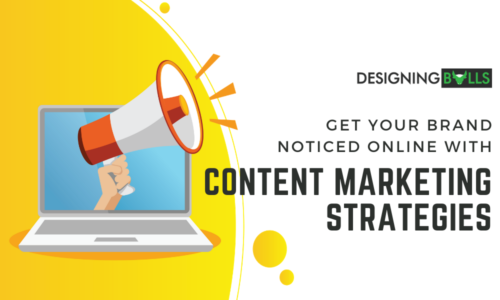 Get Your Brand Noticed Online With Content Marketing Strategy (Infographics)