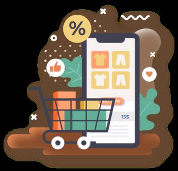 Shopping Cart App Development Company in India